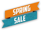 Spring sale flash